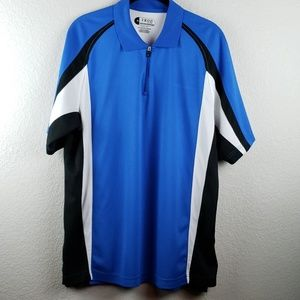 IZOD | Men's Short Sleeve Golf Shirt Size Medium